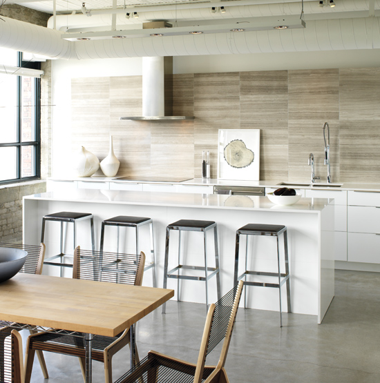 5 inspiring industrial kitchens